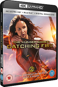 The Hunger Games: Catching Fire 4K (Blu-ray) Blu-ray