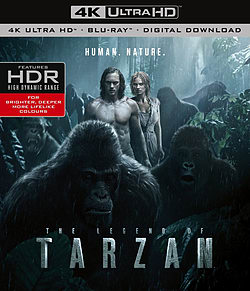 The Legend Of Tarzan (4K Ultra HD Blu-ray) Blu-ray