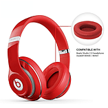 Reytid Apple Beats By Dr. Dre Studio 2.0 & Studio 2.0 Wireless RED Replacement Ear Pads Cushion Kit screen shot 1
