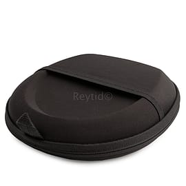 Reytid Bose Carry Case for QuietComfort 35 / QC35 Headphones w/ Built-In Cable Holder - BLACK - Repl Audio