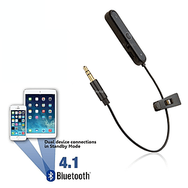 Reytid Bluetooth Adapter for Sony MDR-1R MDR-10R MDR-1A Headphones - Wireless Converter Receiver On- Audio