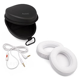 Reytid Beats by Dr. Dre Studio 2.0 & Studio 2.0 Wireless Cable, Carry Case & Ear Cushion Kit - White Audio