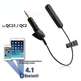 Reytid Bluetooth Adapter for Bose QC2/QC15 Headphones - Wireless Converter Receiver for QuietComfort Audio