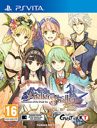 Atelier Shallie Plus PS Vita Cover Art