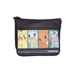 Pokemon Messenger Bag Characters Pikachu new Official black Clothing