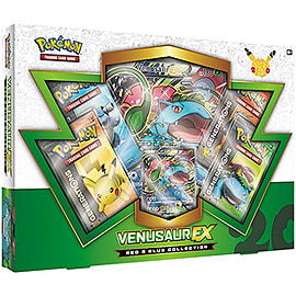 Pokemon TCG Red & Blue Collection Venusaur-EX Trading Cards