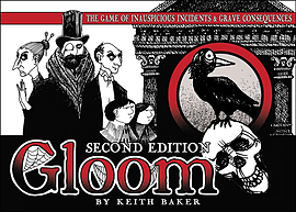 Gloom Second Edition Card Game Traditional Games