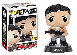 Funko - Figurine Star Wars Episode 7 - Poe Dameron Resistance Exclu Pop 10cm - 0849803096243 Figurines and Sets