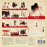 Zombies 2017 Square Calendar 30x30cm screen shot 1