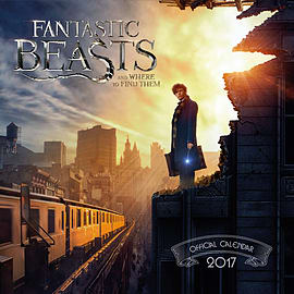 Fantastic Beasts and Where to Find Them 2017 Square Calendar 30x30cm Books