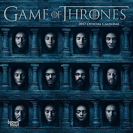 Game of Thrones 2017 GoT Square Calendar 30x30cm Books