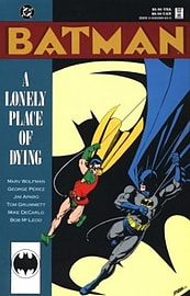 Batman: A Lonely Place of Dying Books