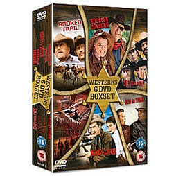 3:10 To Yuma / Bend Of The River / Broken Trail / Open Range / Rooster Cogburn / Silverado DVD DVD