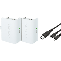 WHITE EDITION XBOX ONE TWIN BATTERY PACK XBOX ONE