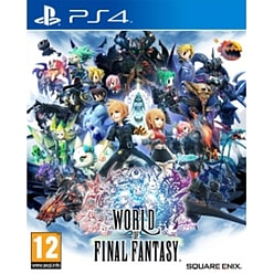 World Of Final Fantasy PS4 Game PS4 Cover Art