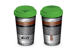 Star Wars Travel Mug Lightsaber handle Logo new Official ceramic Home - Tableware