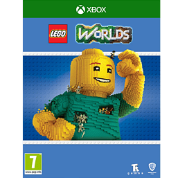 LEGO Worlds XBOX ONE Cover Art