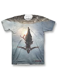 Assassins Creed Poster Sub T-Shirt Small Clothing