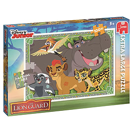 Jumbo Disney The Lion Guard Jigsaw Puzzle (X-Large, 100-Piece, Multi-Colour) Traditional Games