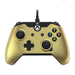 PDP Metallixs Limited Edition Wired Xbox One Licensed Controller - Gold - BRAND NEW Condition XBOX ONE