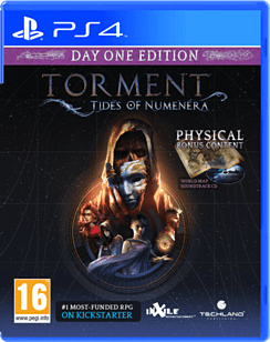 Torment: Tides of Numenera - Day 1 Edition PS4 Cover Art