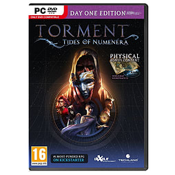 Torment: Tides of Numenera - Day 1 Edition PC Cover Art