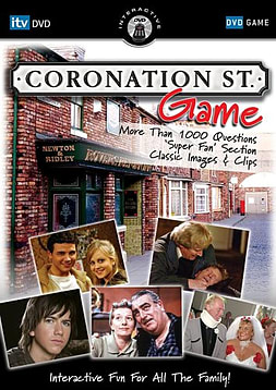 Coronation Street - The Interactive Game DVD