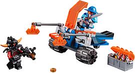 Lego Nexo Knights Knighton Battle Blaster 70310 Blocks and Bricks