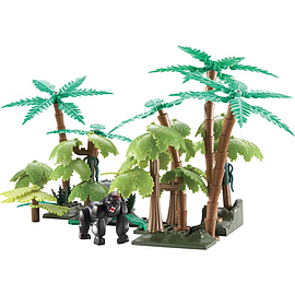 Character Building Deadly 60 Playset - Deadly Jungle Blocks and Bricks