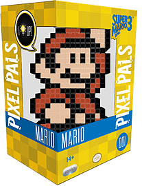 Pixel Pals Wave 2 - Super Mario Figurines and Sets