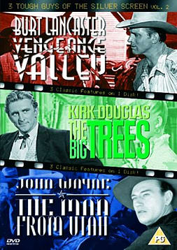 3 Tough Guys Of The Silver Screen - Vol. 2 - Vengeance Valley / The Big Trees / The Man From Utah [D DVD