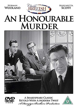 An Honourable Murder [DVD] DVD
