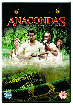 Anacondas - The Hunt For The Blood Orchid [DVD] DVD