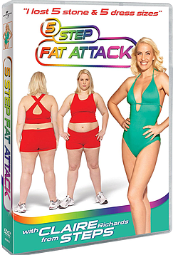 5 Step Fat Attack with Claire Richards from Steps DVD DVD