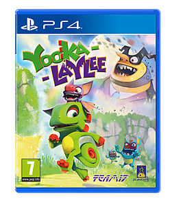 Yooka-Laylee PS4 Cover Art