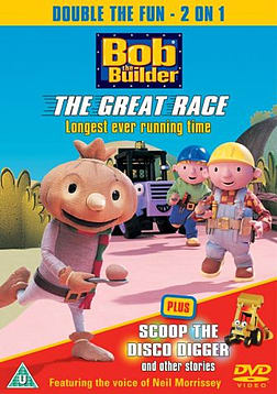 Bob The Builder - The Great Race / Scoop The Disco Digger [DVD] DVD