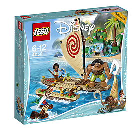 Lego Disney Princess Moana's Ocean Voyage 41150 Blocks and Bricks