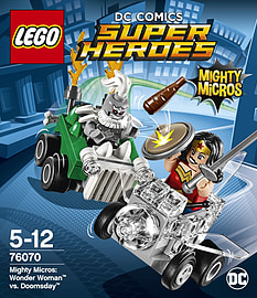 Lego Super Heroes Mighty Micros: Wonder Woman vs. Doomsday 76070 Blocks and Bricks