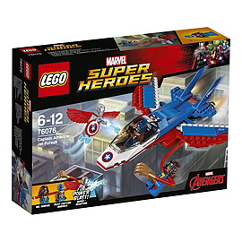 Lego Super Heroes Captain America Jet Pursuit 76076 Blocks and Bricks