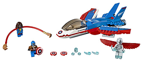 Lego Super Heroes Captain America Jet Pursuit 76076 screen shot 1