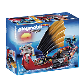 Playmobil Dragons Battle Ship Blocks and Bricks