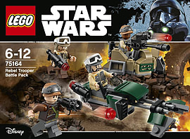 Lego Star Wars Rebel Trooper Battle Pack 75164 Blocks and Bricks