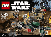 Lego Star Wars Rebel Trooper Battle Pack 75164 screen shot 1