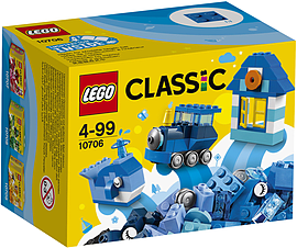 Lego Classic Blue Creativity Box 10706 Blocks and Bricks