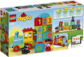 Lego DUPLO My First Number Train 10847 Blocks and Bricks