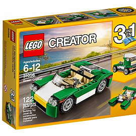 Lego Creator Green Cruiser 31056 Blocks and Bricks