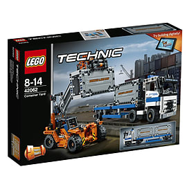 Lego Technic Container Yard 42062 Blocks and Bricks