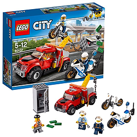 Lego City Police Tow Truck Trouble 60137 Blocks and Bricks