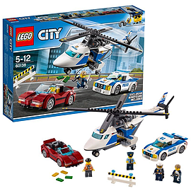 Lego City Police High-speed Chase 60138 Blocks and Bricks