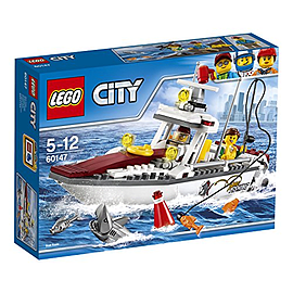 Lego City Great Vehicles Fishing Boat 60147 Blocks and Bricks